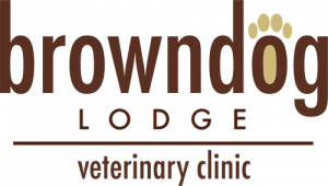 Brown Dog Veterinary Clinic Logo
